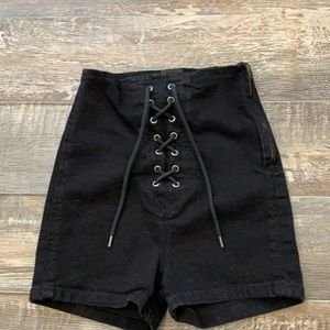 BDG urban outfitters super high waist shorts